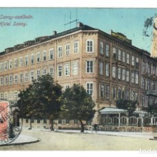 Postales: BRATISLAVA (ESLOVAQUIA) - HOTEL SAVOY - CIRCULADA EN 1913. Lote 265857704