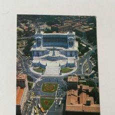Postales: POSTAL PIAZZA VENEZIA E IL VITTORIALE - ROMA. Lote 266328028