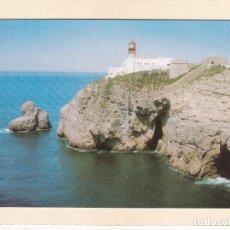 Cartoline: SAGRES (PORTUGAL). CABO Y FARO DE SAN VICENTE - ALGARVE. Lote 267289169