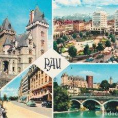 Cartes Postales: FRANCIA, PAU, ENTRADA AL CASTILLO HENRI IV – EDITIONS REX 340 – S/C. Lote 268295479