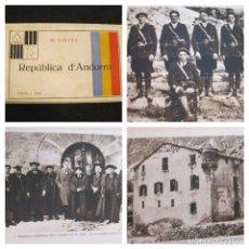 Postales: REPUBLICA DE ANDORRA-BLOC CON 30 POSTALES ANTIGUAS-FOTOGRAF JOAN SALA-VER FOTOS-(81.500). Lote 268430944