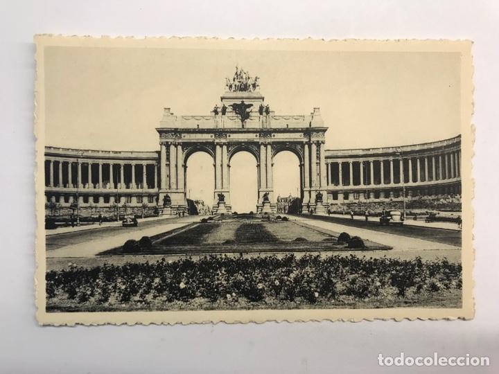 BRUSELAS. POSTAL ARCO MONUMENTAL. PARQUE DEL CINCUENTENARIO.. EDIC. THILL NO.10 (H.1950?) S/C (Postales - Postales Extranjero - Europa)