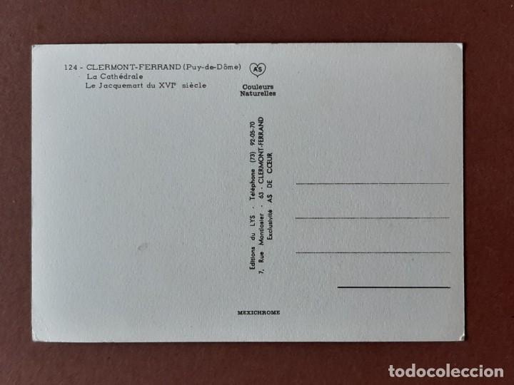 Postales: POSTAL 124 AS. LYS. LA CATHÉDRALE. CLERMONT-FERRAND. FRANCIA. SIN CIRCULAR. - Foto 2 - 268741789