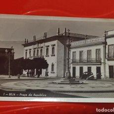 Postales: BEJA PRAÇA REPUBLICA Nº 1 CIRCULADA AÑOS 50 DESPERFECTO FRONTAL. Lote 268928394