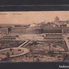 Postales: POSTAL DE BELGICA - BRUXELLES JARDIN BOTANIQUE. 1913 - BRUXELLES BELGIQUE. Lote 268949664