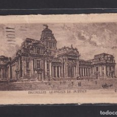 Postales: POSTAL DE BELGICA - BRUXELLES LES PALAIS DE JUSTICE 1930 - BRUXELLES BELGIQUE. Lote 268949869