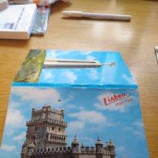 Postales: NUEVE FOTOS EN ABANICO DE LISBOA 1994. Lote 268983824