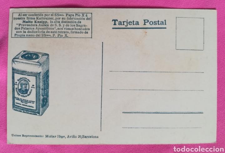 Postales: Postal Papa Pio X - Malte Kneipp - Foto 2 - 268984079