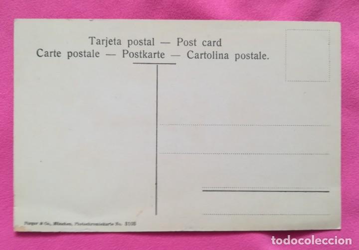 Postales: MONSERRAT, BARCELONA - Cuarto misterio de dolor - SIN CIRCULAR - PURGER & CO, MÜNCHEN - Foto 2 - 269007094