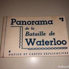 Postales: BLOCK 12 POSTALES BATALLA PANORAMA BATAILLE DE WATERLOO FRANCIA BRUX. Lote 269171638