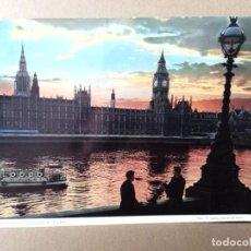 Postales: POSTAL MUY GRANDE LONDRES - ESCRITA. Lote 269277153