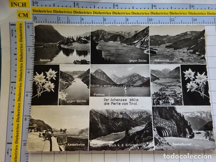 POSTAL DE AUSTRIA. TIROL DER ACHENSEE. 386 (Postales - Postales Extranjero - Europa)