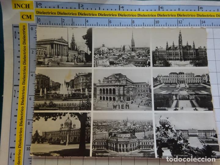 POSTAL DE AUSTRIA. VIENA MONUMETOS. 390 (Postales - Postales Extranjero - Europa)