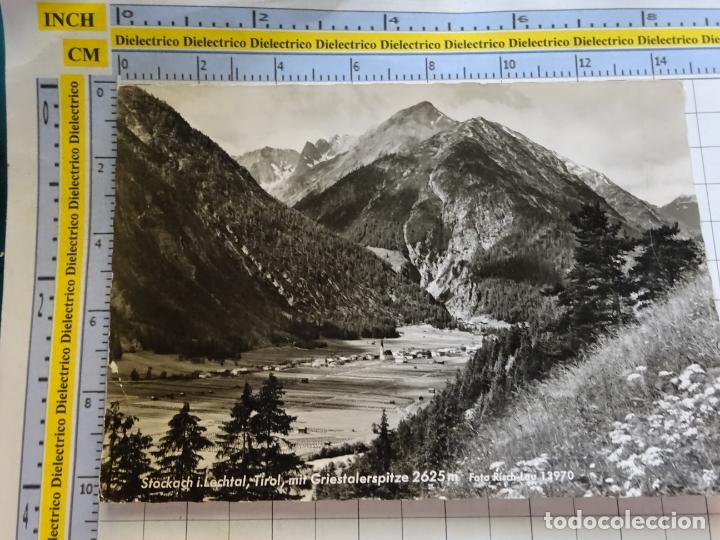 POSTAL DE AUSTRIA. TIROL STOCKACH I. LECHTAL. GRIESTALERSPITZE. 398 (Postales - Postales Extranjero - Europa)