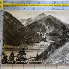 Postales: POSTAL DE AUSTRIA. TIROL STOCKACH I. LECHTAL. GRIESTALERSPITZE. 398. Lote 269499583