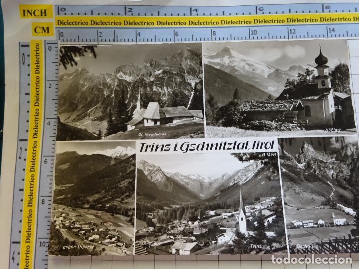 POSTAL DE AUSTRIA. TIROL TRINS I. GSCHNITZTAL. 399 (Postales - Postales Extranjero - Europa)