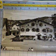 Postales: POSTAL DE ALEMANIA. OBERAMMERGAU DORFPLATZ HOTEL ALTE POST. 410. Lote 269499858