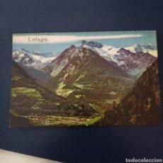 Postales: POSTAL DE LUTAGO (ITALIA) SIN CIRCULAR (AÑOS 60). Lote 270244898