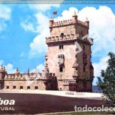 Postales: ANTIGUO ACORDEON DE LISBOA - PORTUGAL - CON 10 POSTALES EN EL INTERIOR MAS 2 DEL EXTERIOR -. Lote 270259103