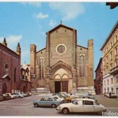 Postais: EX067 ITALIA VERONA CHIESA DE S.ANASTASIA ED RANDAZZO CITROEN DS. Lote 271374598