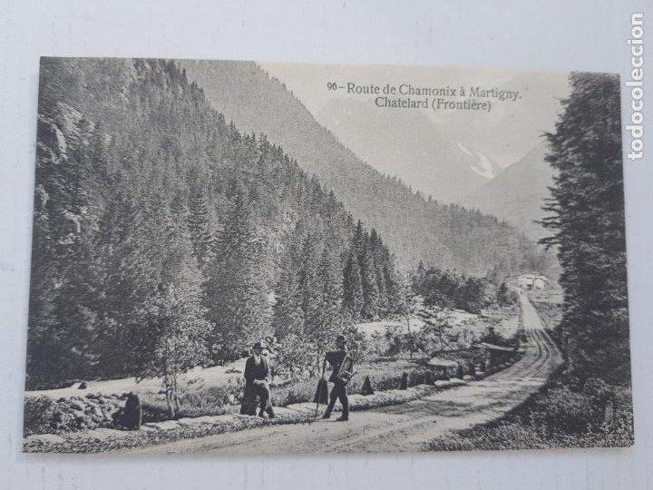 POSTAL SUIZA CHAMONIX (Postales - Postales Extranjero - Europa)