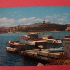 Postales: POSTAL SIN CIRCULAR DE PUERTO DE YATES MALAGA LOTE 40. Lote 271537693