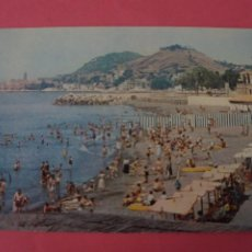 Postales: POSTAL SIN CIRCULAR DE PLAYA DE LOS BAÑOS DEL CARMEN MALAGA LOTE 40. Lote 271537873