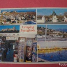 Postales: POSTAL SIN CIRCULAR DE CAMPING FUENGIROLA MALAGA LOTE 40. Lote 271538678
