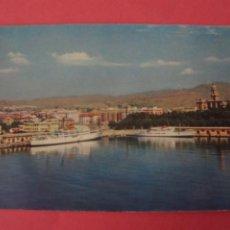 Postales: POSTAL SIN CIRCULAR DE PUERTO MALAGA LOTE 41. Lote 271539663