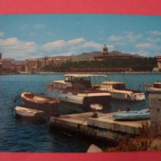 Postales: POSTAL SIN CIRCULAR DE PUERTO DE YATES MALAGA LOTE 41. Lote 271539823