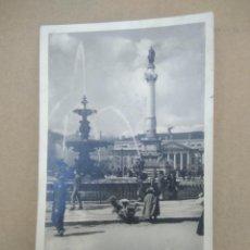 Postales: ANTIGUA FOTOGRAFIA- POSTAL LISBOA. Lote 271571778