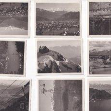 Postales: 12 POSTALES MUY ANTIGUAS AUSTRIA 1929 - VILLACH KANZELBAHN OSSIACHER - ALTE POSTKARTE - SON FOTOS. Lote 272899498