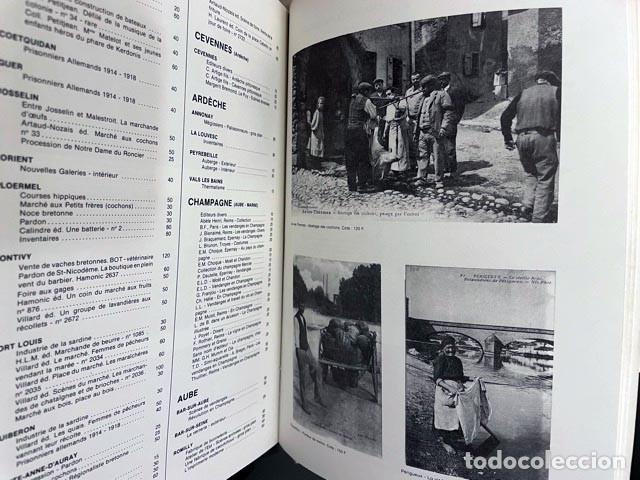 Postales: Catalogue des cartes postales anciennes de collection (Argus Fildier) Tarjetas postales. Francia - Foto 3 - 274584258