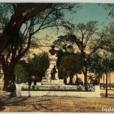 Postales: PORTUGAL, LISBOA, ALAMEDA S PEDRO ALCÁNTARA. CIRCULADA 1911.. Lote 274832468