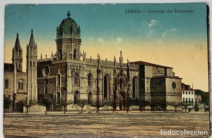 PORTUGAL, LISBOA, CONVENTO DOS JERONIMOS. ESCRITA 1912 (Postales - Postales Extranjero - Europa)