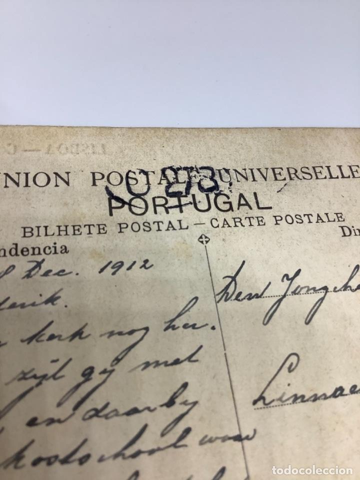 Postales: PORTUGAL, Lisboa, convento dos Jeronimos. Escrita 1912 - Foto 2 - 274832518