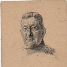 Postales: POSTAL-GENERAL MILITAR ALEMAN V.D.GOLTZ-SIN CURCULAR-ALEMANIA. Lote 276441253