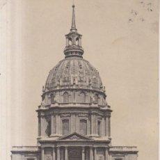 Postales: FRANCIA PARIS HOTEL DES INVALIDES 1921 POSTAL CIRCULADA. Lote 276807168