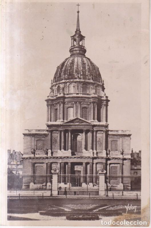 FRANCIA PARIS LES INVALIDES 1921 POSTAL CIRCULADA (Postales - Postales Extranjero - Europa)