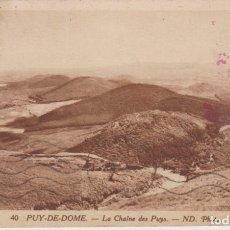 Postales: FRANCIA PUY DE DOME VISTA PANORAMICA 1932 POSTAL CIRCULADA. Lote 276808328