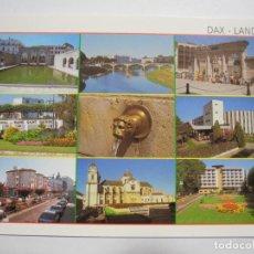 Cartes Postales: LES LANDES. DAX VILLE THERMALE. LA FONTAINE CHAUDE L'ADOUR ET LE PONT. B-1652 NUEVA. Lote 277070518