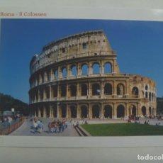 Postales: POSTAL DE ROMA ( ITALIA ): EL COLISEO. Lote 277195123