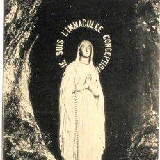 Postales: ANTIGUA POSTAL VIRGEN DE LOURDES EDICION F VIRON CIRCA 1920. Lote 277356438