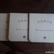 Cartes Postales: TRES POSTALES TROQUELADAS PARIS. Lote 277712108