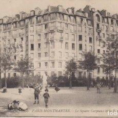 Postales: FRANCIA PARIS MONTMARTRE CARTA POSTAL ANIMADA 1908 POSTAL CIRCULADA. Lote 277722038