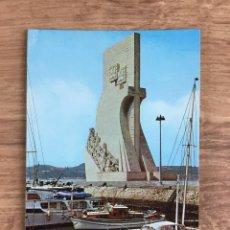 Postales: POSTAL DE LISBOA - MONUMENTO A LOS DESCUBRIMIENTOS. Lote 277737778