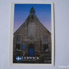 Cartoline: LERWICK THE METHODIST CHAPELS OF SHETLAND. ESCOCIA. NUEVA. Lote 278160378