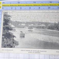 Postales: POSTAL DE REINO UNIDO GRAN BRETAÑA. GREAT NORTH OF SCOTLAND RAILWAY ROUTE VIA ABERDEEN. 1831. Lote 278295873