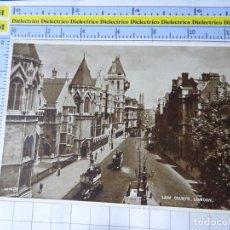Postales: POSTAL DE REINO UNIDO GRAN BRETAÑA. LONDON LONDRES LAW COURTS. 1834. Lote 278296118