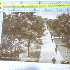Postales: POSTAL DE REINO UNIDO GRAN BRETAÑA. THE AVENUE VICTORIA PARK PORTSMOUTH. 1836. Lote 278296243